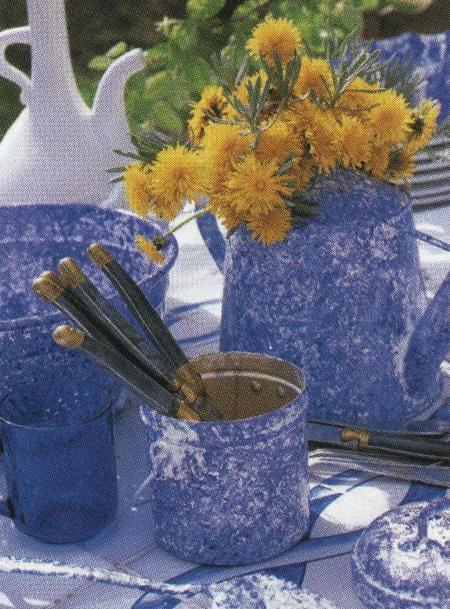 Decorazioni fai da te per abbellire oggetti metallici for Decorazioni fai da te per cucina