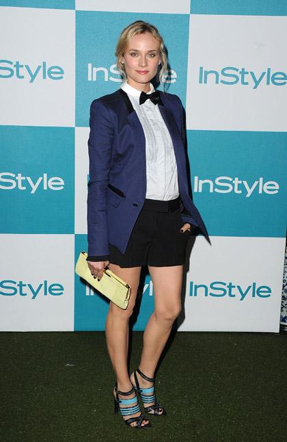 Diane Kruger sceglie un look garçon firmato Jason Wu per il 10° anniversario di InStyle