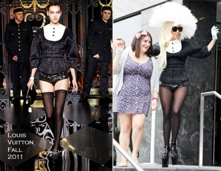 Sempre più glamour, Lady Gaga sceglie Louis Vuitton a New York!