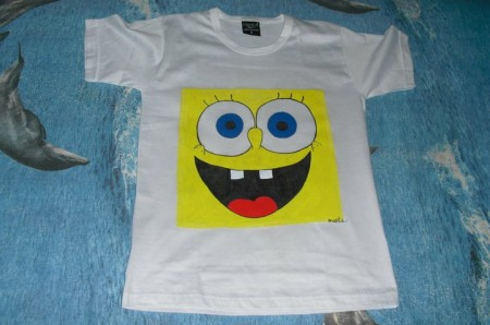 Maglietta personalizzata Spongebob