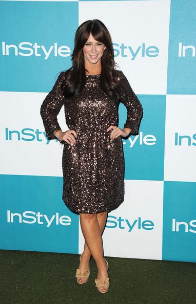 Le deliziose scarpe Valentino di Jennifer Love Hewitt per il 10° anniversario di InStyle