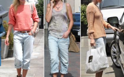 Kate Bosworth adora i suoi jeans alla pescatora