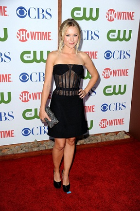 Versus veste Kristen Bell per il TCA Party di Los Angeles, deliziosa ed elegante!