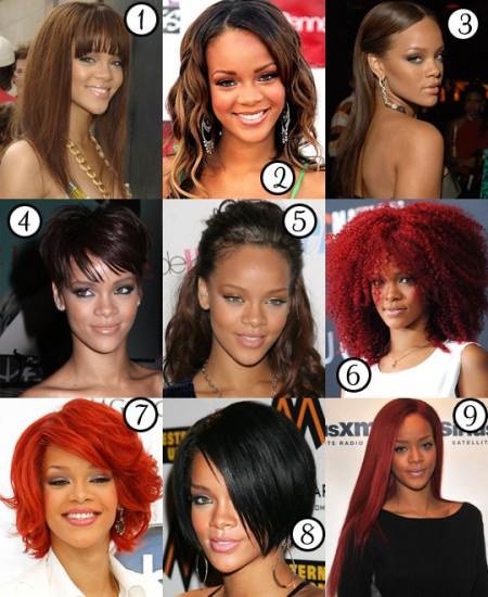 Le più belle acconciature di Rihanna, tutte da copiare!