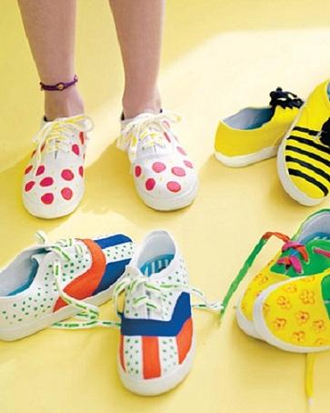 sneakers decorate