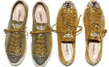 Le prime sneakers Miu Miu per essere comode e cool, ma non saranno un po' kitch?