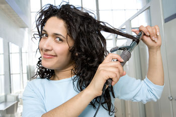 styling capelli ricci