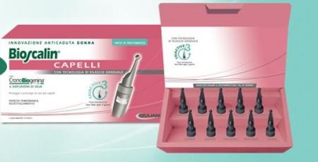 Bioscalin: capelli più folti e forti con le fiale anticaduta