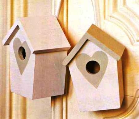 Crea le casette per gli uccellini con il bricolage fai da te