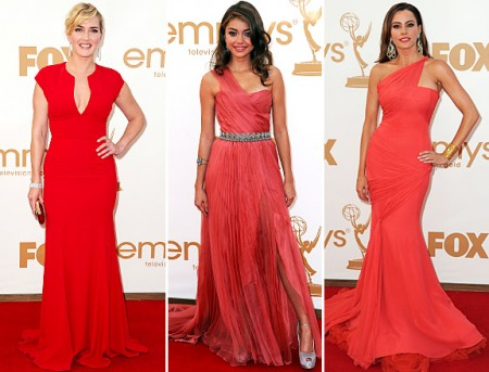 Dive in rosso Emmy Awards