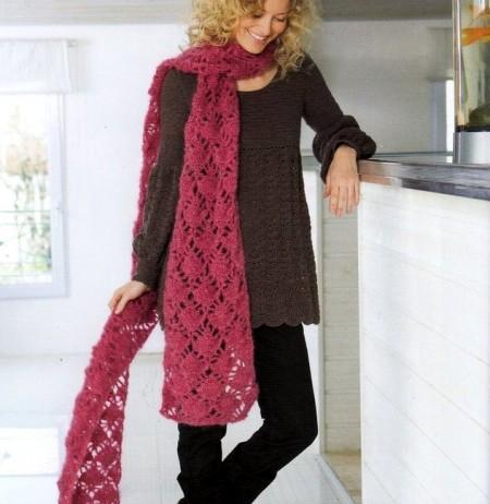 Schemi uncinetto per creare la tua sciarpa
