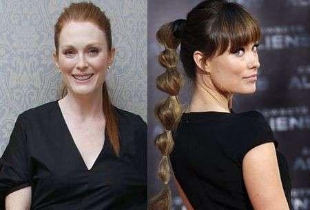 Acconciature capelli lunghi, la ponytail più amata dalle Stars