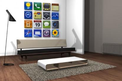 Decora la tua casa con le icone dell 39 iphone 4 pourfemme for Decora la tua casa