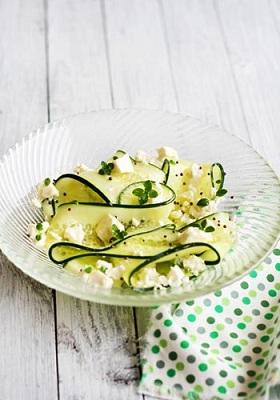 insalata zucchine feta