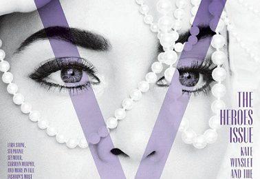 Kate Winslet bellissima su V Magazine