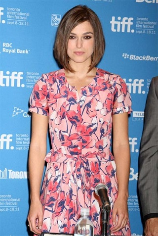 "Keira Knightley in Moschino Cheap & Chic alla premiere di ""A Dangerous Method"" a Toronto"