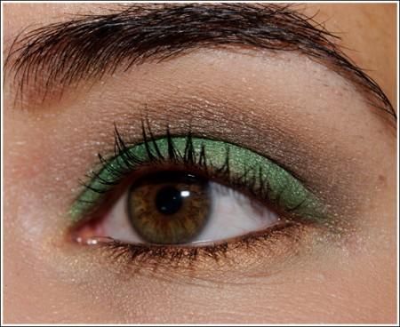 Il make up verde sottobosco perfetto e chic per l'autunno