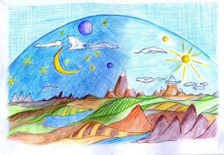 """La poesia per bambini """"Il cielo è di tutti"""" di Gianni Rodari"""