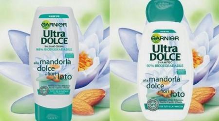 Ultra Dolce Garnier, la nuova linea alla Mandorla dolce e fiori di loto, per capelli da favola!