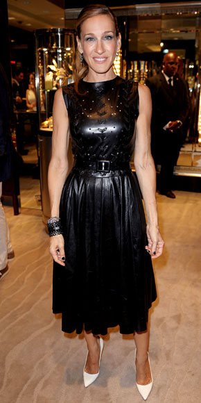 Ancora Prabal Gurung e Manolo Blahnik per Sarah Jessica Parker alla Fashion's Night Out