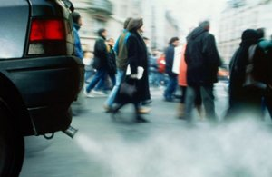 Lo smog aumenta il rischio d'infarto