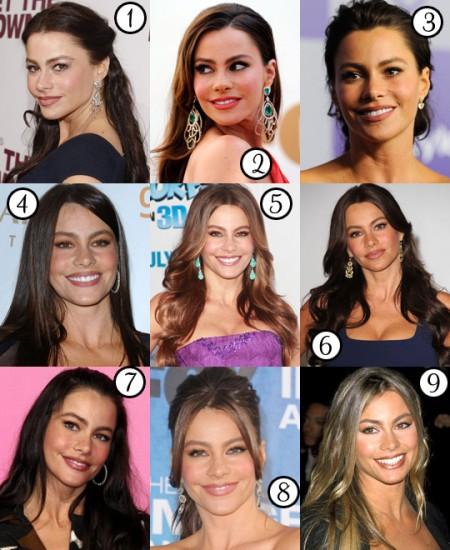 Le migliori acconciature di Sofia Vergara: come la preferite?