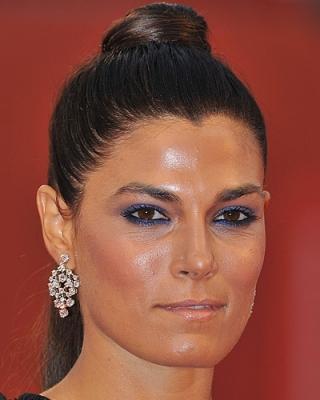 Valeria Solarino al Festival del Cinema di Venezia preferisce un make up occhi davvero speciale, blu style!