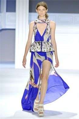 La collezione primavera estate 2012 di Vera Wang alla New York Fashion Week