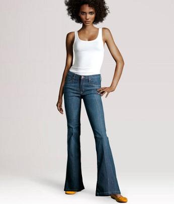 vita alta jeans