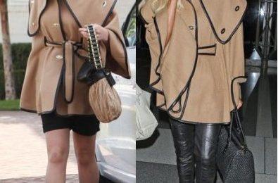 Il cappotto di Rachel Zoe sta meglio a Katherine Heighl oppure a Paris Hilton?