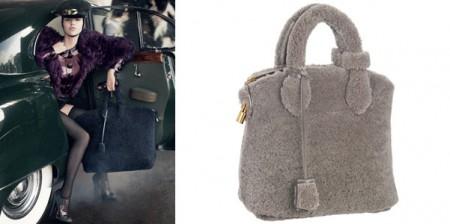 Louis Vuitton propone un'inedita versione della borsa Lockit: vi piace?