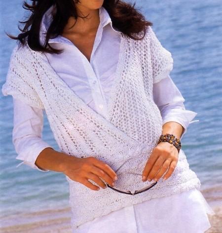 Lavori a maglia per creare il tuo pull incrociato