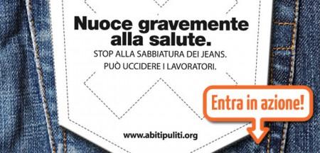 La campagna abiti puliti contro la sabbiatura dei jeans, il Made in Italy fatica ad adeguarsi!