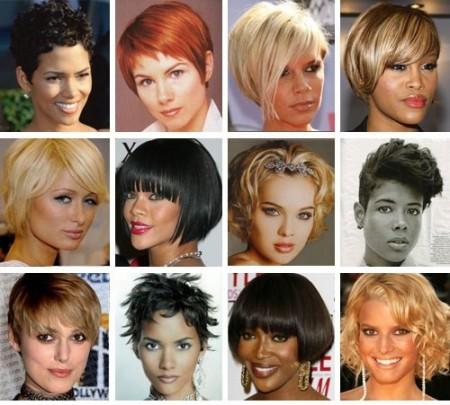 Tagli di capelli corti per viso ovale