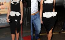 Cheryl Cole e Zooey Deschanel con lo stesso abito Moschino, a chi sta meglio?