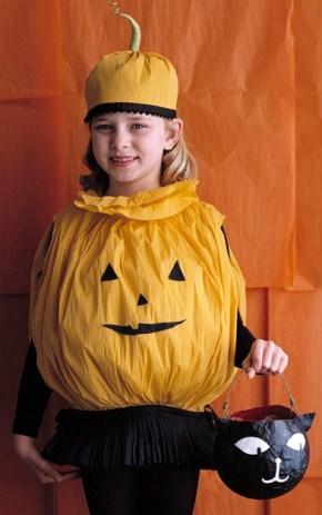 Vestiti Di Halloween Per Bambini Crea Un Costume Di Carta A Forma