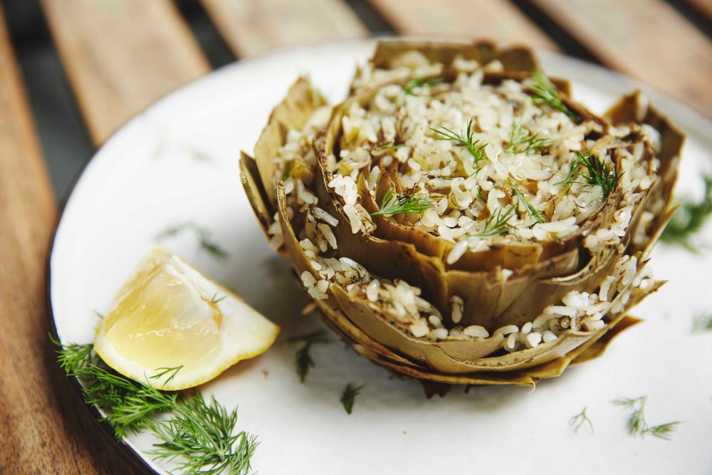 dieta riso carciofi pere