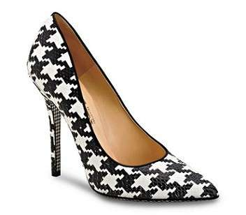Ferragamo scarpe pied de poule