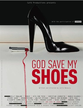 god save my shoes locandina