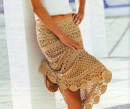 Schemi uncinetto gratis per creare una bellissima gonna o un abito [FOTO]