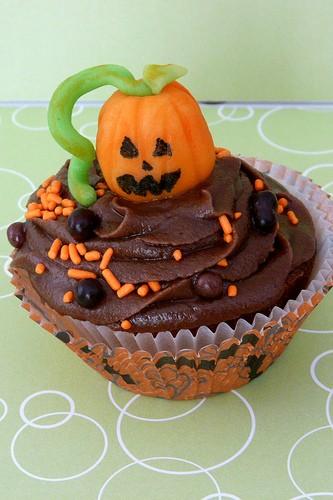 Muffin al cioccolato di Halloween