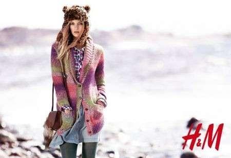 Maglieria colorata nell'inverno di H&M, le foto della linea Colored Knits