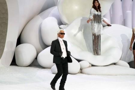 Karl Lagerfeld e il mondo sottomarino di Chanel