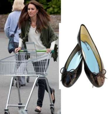 Kate Middleton e le sue ballerine London Sole 'Pirouette'