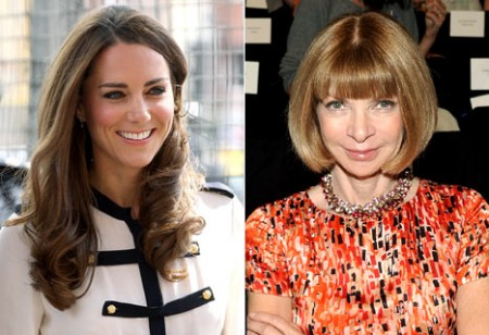 kate middleton anna wintour vogue