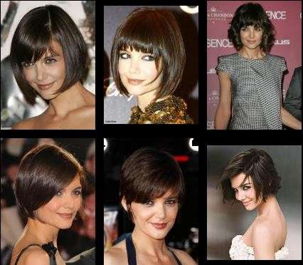 Le migliori acconciature e i tagli di capelli più trendy dell'attrice Katie Holmes!