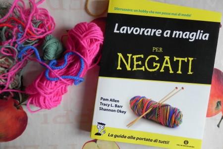 Lavorare a maglia per negati, un libro per chi proprio non riesce a usare i ferri!