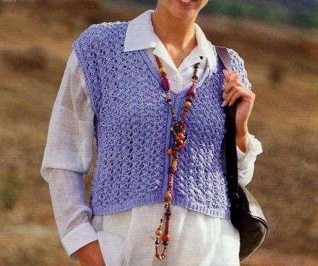 Crea con i lavori a maglia un bellissimo maglioncino a punto conchiglia