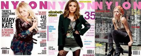 Olsen Vs. Olsen Vs. Olsen: tre sorelle per NYLON magazine!