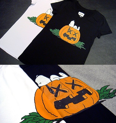Le t-shirt dei Peanuts per Halloween by Original Fake